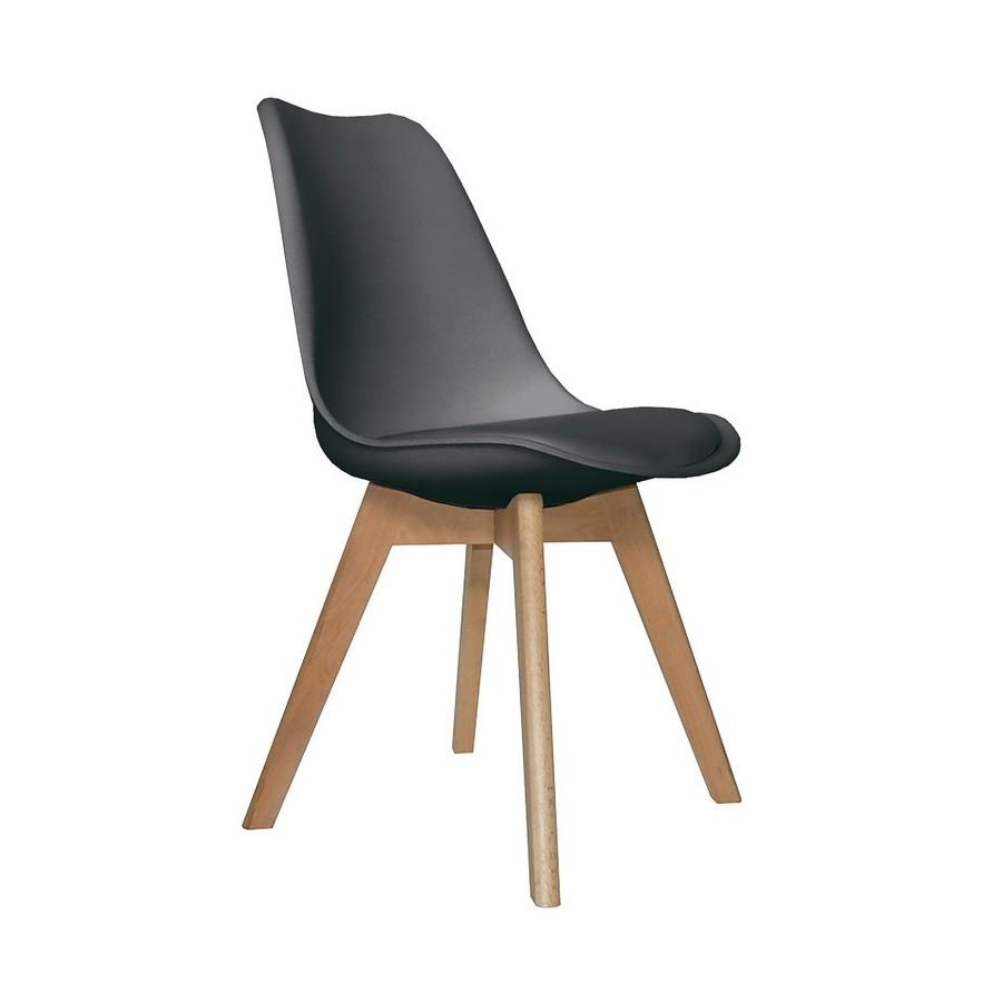 Pack-4-sillas-estilo-nórdico-Tres-colores-asiento-acolchado